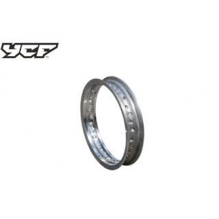 "YCF Fälgbana 1.85x12"", aluminium silver"