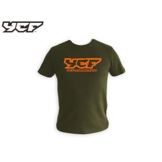 YCF T-Shirt, grön 2019