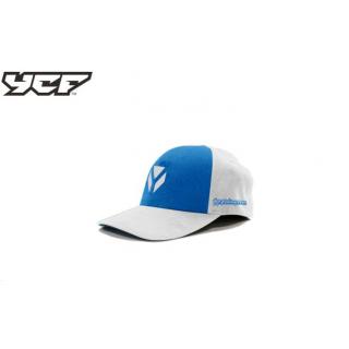 YCF Keps vit/blå