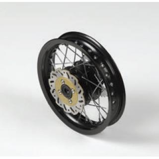 """YCF Bakhjul aluminium 12"""", för 12mm hjulaxel"""