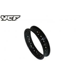 """YCF Fälgbana 1.85x12"""", stål"""