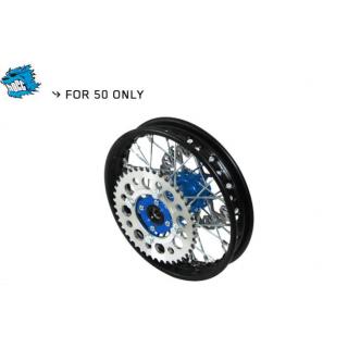 "YCF 50 Bakhjul stål, 1,40x10"" CNC nav"