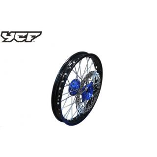 """YCF Framhjul 12"""" aluminium, CNC nav"""