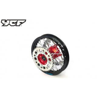 """YCF Bakhjul 10"""" aluminium, CNC nav"""