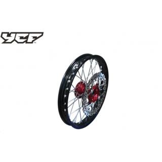 """YCF Framhjul 14"""" aluminium, CNC nav"""