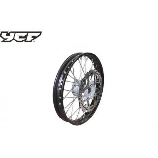 """YCF Framhjul, stål 1,40x14"""""""