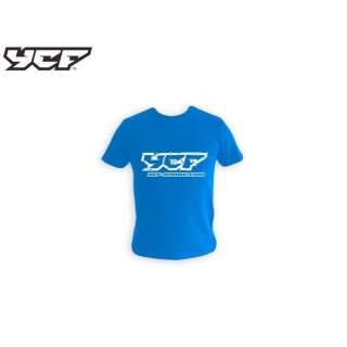 YCF T-Shirt, barn blå 2019